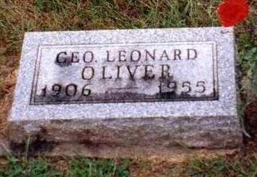 OLIVER, GEORGE LEONARD - Madison County, Iowa | GEORGE LEONARD OLIVER