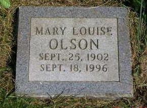 PENICK OLSON, MARY LOUISE - Madison County, Iowa | MARY LOUISE PENICK OLSON
