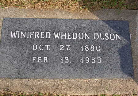 WHEDON OLSON, WINIFRED - Madison County, Iowa | WINIFRED WHEDON OLSON