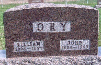 WITHAM ORY, LILLIAN - Madison County, Iowa | LILLIAN WITHAM ORY