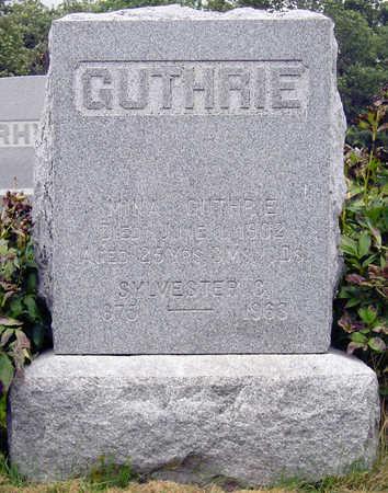 OSBORN GUTHRIE, SARAH MINA - Madison County, Iowa | SARAH MINA OSBORN GUTHRIE