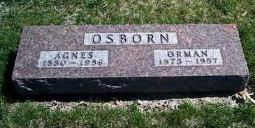 OSBORN, AGNES PAULINE - Madison County, Iowa   AGNES PAULINE OSBORN