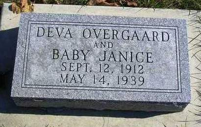 OVERGAARD, JANICE MARIE - Madison County, Iowa | JANICE MARIE OVERGAARD