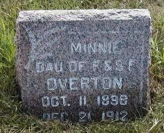 OVERTON, MINNIE VIOLA - Madison County, Iowa | MINNIE VIOLA OVERTON