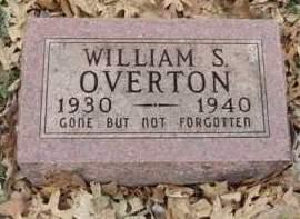 OVERTON, WILLIAM STANLEY - Madison County, Iowa | WILLIAM STANLEY OVERTON