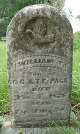 PACE, WILLIAM T. - Madison County, Iowa | WILLIAM T. PACE