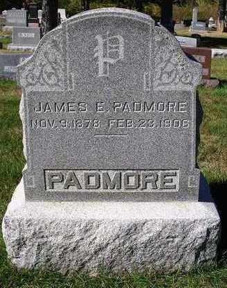 PADMORE, JAMES E. - Madison County, Iowa | JAMES E. PADMORE