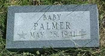 PALMER, BABY - Madison County, Iowa   BABY PALMER