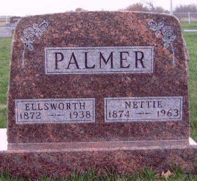 PALMER, MARY JANETTE (NETTIE) - Madison County, Iowa | MARY JANETTE (NETTIE) PALMER
