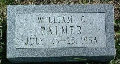 PALMER, WILLIAM CHARLES - Madison County, Iowa | WILLIAM CHARLES PALMER