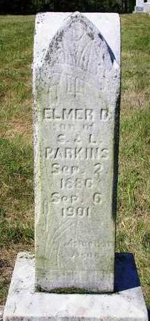 PARKINS, ELMER D. - Madison County, Iowa | ELMER D. PARKINS