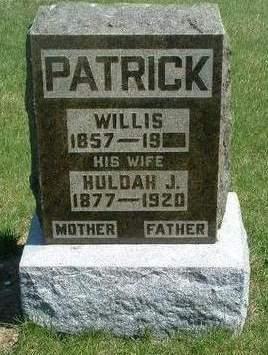 PATRICK, WILLIS ARDEN - Madison County, Iowa | WILLIS ARDEN PATRICK