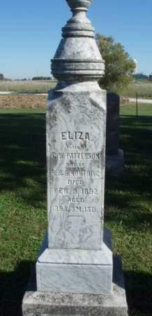 PATTERSON, ELIZA - Madison County, Iowa | ELIZA PATTERSON