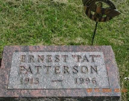 PATTERSON, ERNEST