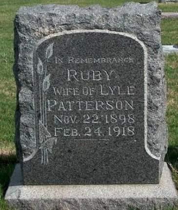 PATTERSON, RUBY - Madison County, Iowa | RUBY PATTERSON