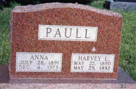PAULL, HARVEY LEROY - Madison County, Iowa | HARVEY LEROY PAULL
