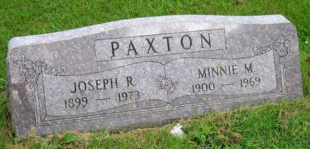 PAXTON, JOSEPH RAY - Madison County, Iowa | JOSEPH RAY PAXTON