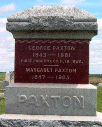 PAXTON, GEORGE ANDERSON - Madison County, Iowa | GEORGE ANDERSON PAXTON