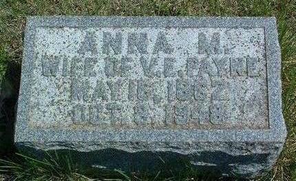 PAYNE, ANNA MARY - Madison County, Iowa | ANNA MARY PAYNE