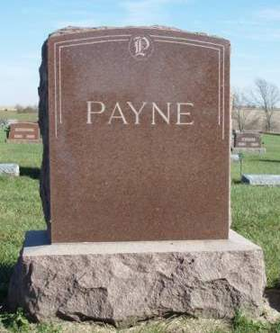 PAYNE, FAMILY STONE - Madison County, Iowa   FAMILY STONE PAYNE