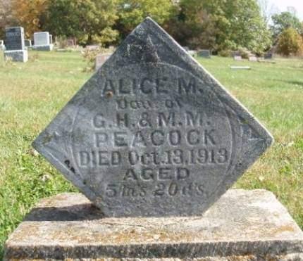 PEACOCK, ALICE MAY - Madison County, Iowa | ALICE MAY PEACOCK