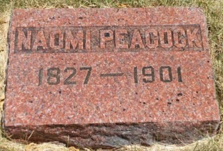PEACOCK, NAOMI - Madison County, Iowa | NAOMI PEACOCK