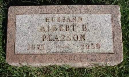 PEARSON, ALBERT B. - Madison County, Iowa   ALBERT B. PEARSON