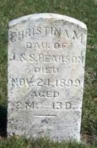 PEARSON, CHRISTINA M. - Madison County, Iowa   CHRISTINA M. PEARSON