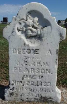 PEARSON, DEEDIE A. - Madison County, Iowa   DEEDIE A. PEARSON