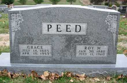 PEED, GRACE - Madison County, Iowa | GRACE PEED