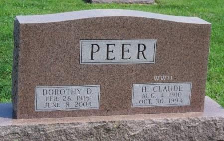 PEER, DOROTHY DARLENE - Madison County, Iowa   DOROTHY DARLENE PEER
