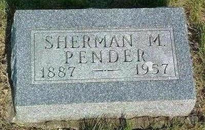 PENDER, SHERMAN M. - Madison County, Iowa | SHERMAN M. PENDER