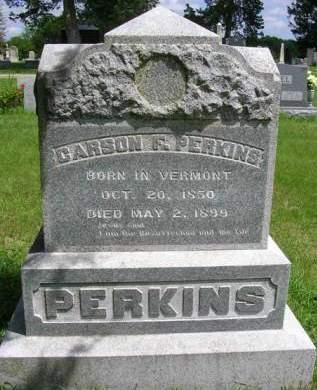 PERKINS, CARSON F. - Madison County, Iowa | CARSON F. PERKINS