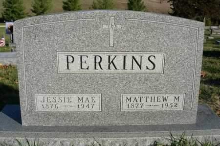 PERKINS, MATTHEW MCGEE - Madison County, Iowa | MATTHEW MCGEE PERKINS