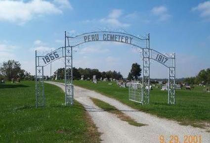 PERU, CEMETERY - Madison County, Iowa | CEMETERY PERU