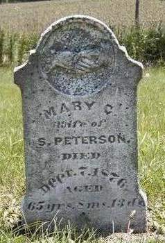 PETERSON, MARY C. - Madison County, Iowa | MARY C. PETERSON