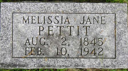 PETTIT, MELISSIA JANE - Madison County, Iowa | MELISSIA JANE PETTIT