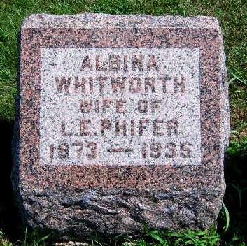 PHIFER, ALBINA JANE - Madison County, Iowa | ALBINA JANE PHIFER