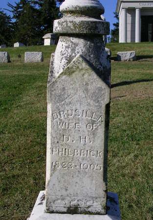 PHILBRICK, DRUSILLA RUTH - Madison County, Iowa | DRUSILLA RUTH PHILBRICK