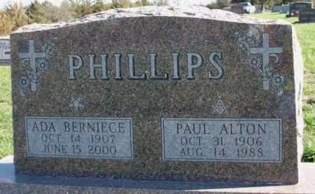 PHILLIPS, ADA BERNICE - Madison County, Iowa | ADA BERNICE PHILLIPS