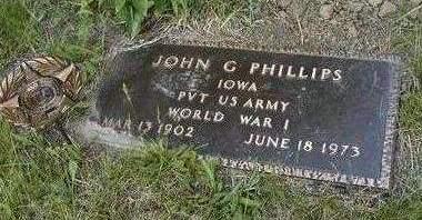 PHILLIPS, JOHN GAYLORD - Madison County, Iowa | JOHN GAYLORD PHILLIPS