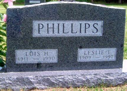 PHILLIPS, LESLIE THOMAS - Madison County, Iowa | LESLIE THOMAS PHILLIPS