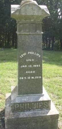PHILLIPS, WILLIAM LEVI - Madison County, Iowa | WILLIAM LEVI PHILLIPS