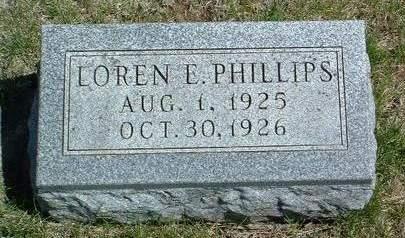 PHILLIPS, LOREN EUGENE - Madison County, Iowa | LOREN EUGENE PHILLIPS