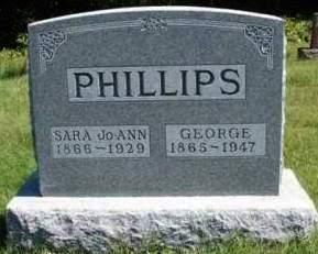 PHILLIPS, GEORGE - Madison County, Iowa   GEORGE PHILLIPS