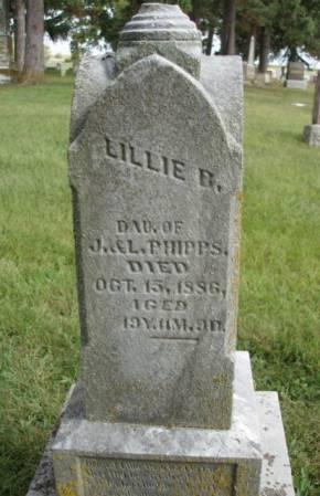 PHIPPS, LILLIE BELLE - Madison County, Iowa | LILLIE BELLE PHIPPS