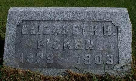 PICKEN, ELIZABETH H. - Madison County, Iowa | ELIZABETH H. PICKEN