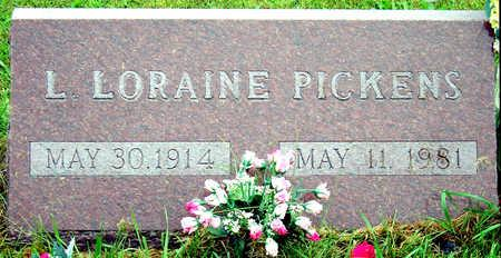 PICKENS, LOVISA LORAINE - Madison County, Iowa | LOVISA LORAINE PICKENS