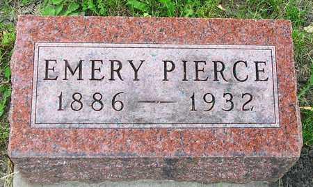 PIERCE, EMERY HAROLD - Madison County, Iowa   EMERY HAROLD PIERCE