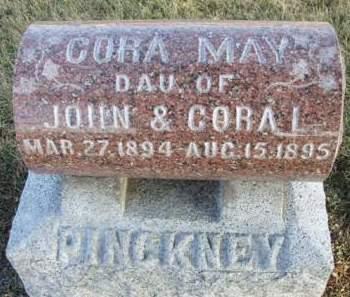 PINCKNEY, CORA MAY - Madison County, Iowa | CORA MAY PINCKNEY